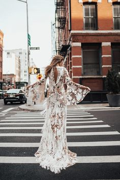 RUE de SEINE | By Tezza Bohemian Wedding dresses NYC wedding