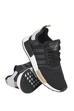 Adidas Women\u0027s NMD-R1 Running Shoes Black/Black/Purple 8 B(M