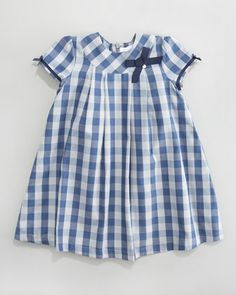 Tartine et Chocolat // Claudine Check Dress - Neiman Marcus...for a sweet summer picnic kind of wedding