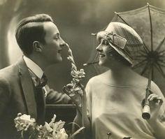 1920's Vintage Couple ~ Sweet