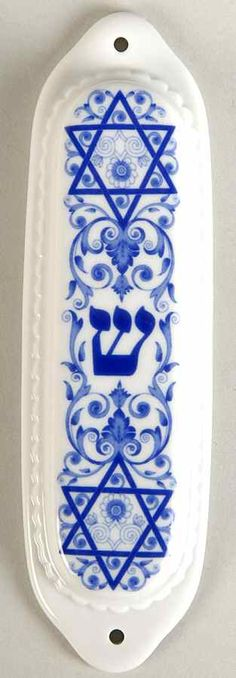 Spode BLUE ROOM JUDAIC COLLECTION Mezuzah Case 4056019