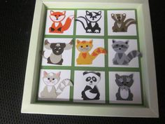 Foxy Friends, Fox Builder punch, fox, skunk, badger, yak, cat, raccoon, panda, yorkie (this project is not on her blog, she posted on FB, just making sure to give credit where credit is due :) created by: Deborah Pippin)