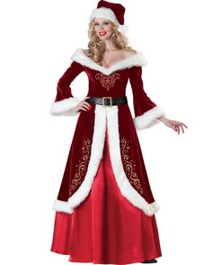 Hot sellint Sexy Christmas Costumes Fancy Dress Cosplay Suits Santa Outfits for Women Costume (Mainland)) Robe Halloween Costume, Costume Christmas, Costume Sexy, Christmas Costumes, Costume Dress, Christmas Dresses, Adult Halloween, Queen Costume, Christmas Clothes