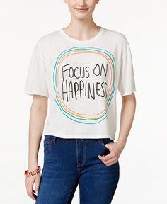 focus on happiness shirt @ macy's