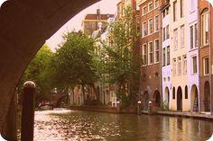 Utrecht by boat