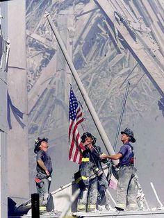 9-11-01  Lest we never forget.  I can't even look at this without choking up.  God Bless.