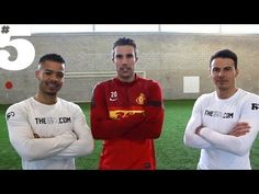 ▶ Robin van Persie Freestyle Skills | #5 Players Lounge - YouTube