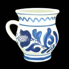 Pottery Vase, Ceramic Pottery, Diy And Crafts, Crafts For Kids, Romania, Folk Art, Spain, Mugs, Tableware