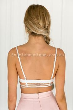 Lustful Lace Bralette (White) ▶ ▷▶ Shop It Now ❤ Xenia Boutique xx