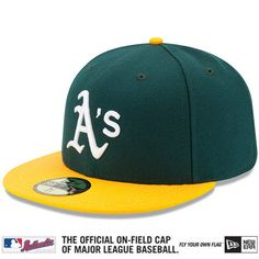 Oakland Athletics by New Era Pro Image Sports at Mall of America All on-field caps now made with enhanced performance fabric, sweatbands, and undervisors. Performance is enhanced through NE TECH™ feat
