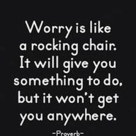 Never worry.  Either you can change it or you can't.  If you can, do; if you cannot, don't worry about it.
