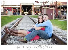Fort Worth Stockyards Station - I like the idea of taking the pictures at the railroad tracks. Fall Engagement, Engagement Couple, Engagement Pictures, Engagement Shoots, Engagement Ideas, Fort Worth Stockyards, Engagement Photo Inspiration, Photo Location, Maternity Pictures