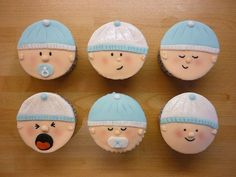 baby boy shower cupcake cakes 2