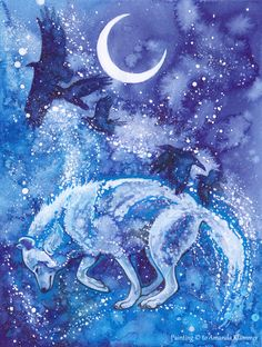 Winter's Flight by Aikya.deviantart.com on @deviantART