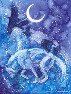 Winter's Flight by Aikya.deviantart.com on @deviantART