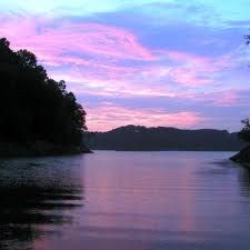 Lake Cumberland - Kentucky. Happy memories of living on a houseboat, BBQ's, Water Skiing and just messing around in warm open water