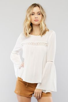 Bell Sleeve Top - ME Boutique Online