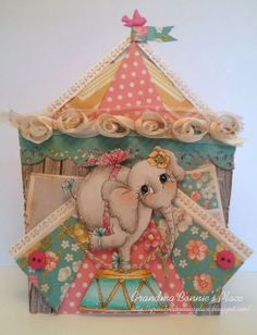 Grandma Bonnie's Place: It's a Circus...featuring My Besties Ellie Elephant!