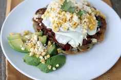 "Meatless Monday: Huevos Rancheros with a Spiralized Potato ""Tortilla"".  Gluten free"