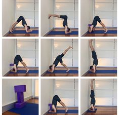 This post teaches you step by step how to do Sirsasana (headstand). Various methods and techniques are shown to help both new and more experienced students. How To Do Headstand, Yoga Handstand, Learn Yoga, How To Do Yoga, Yoga Sequences, Yoga Poses, Yoga Iyengar, Gymnastics Workout, Head Stand
