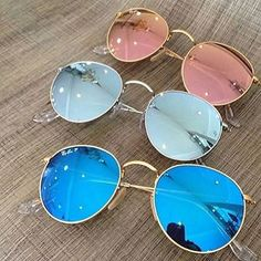 Ray-Ban Round Mirrored Lens Values von WhatsApp 11 949671370 oder # # summer Stylish Sunglasses, Ray Ban Sunglasses, Cat Eye Sunglasses, Round Sunglasses, Sunglasses Women, Summer Sunglasses, Cool Glasses, Glasses Frames, Accesorios Casual