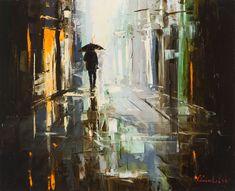 Homeward Bound by Gleb Goloubetski, oil on canvas