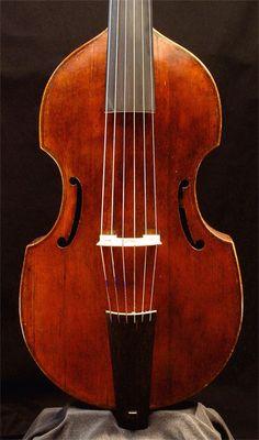 Viola da gamba Joachim Tielke (Hamburg, 1683)