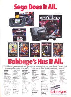 #Sega and Babbage's,