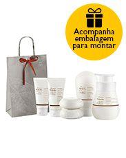 Presente Natura Tododia Macadâmia - Sabonete + Creme de Banho + Hidratante + Creme para as Mãos + Creme para os Pés + Embalagem Desmontada http://rede.natura.net/espaco/novo