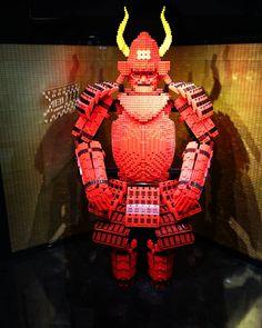 Found this logo samurai!! Isn't it cool?! レゴの侍めっちゃかっこいい  #lego #samurai #japan #osaka #umeda #sanada #レゴ #侍 #日本 #大阪 #梅田 #真田幸村 #六銭紋