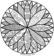 Pin Auf Mandala Malen