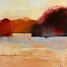 La artista contemporánea Irma Cerese presenta paisajes expresivos que a veces…