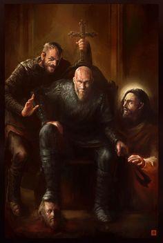 King Ragnar, David Raskin on ArtStation at https://www.artstation.com/artwork/x2124