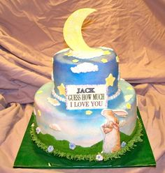 guess how much I love you- cake for Nicky