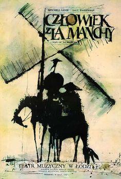 DP Vintage Posters - Man of La Mancha Original Polish Theatre Poster