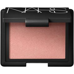Nars Blusher in Orgasm (600 MXN) ❤ liked on Polyvore featuring beauty products, makeup, cheek makeup, blush, beauty and nars cosmetics
