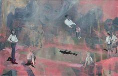 "Kate Gottgens, ""Softly Fall"", 2011, Oil on canvas"