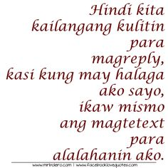 36 Best Sad Tagalog Quotes Images On Pinterest Tagalog Love Quotes