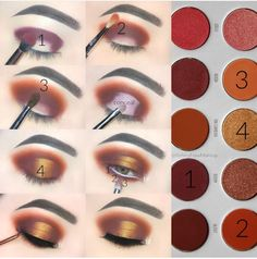 "Morphe-Jaclyn Hill ""Ring The Arm"" Morphe-Jaclyn Hill ""Ring The Arm"" – Das schönste Make-up Fall Eye Makeup, Fall Makeup Looks, Eye Makeup Tips, Makeup Goals, Love Makeup, Skin Makeup, Makeup Inspo, Makeup Inspiration, Makeup Brushes"