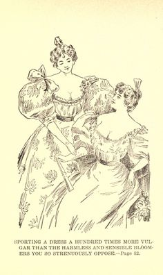 A study in bloomers : or, The model new woman : a novel Clothing Styles, Clothing Ideas, Historical Clothing, New Woman, The Borrowers, Steampunk, Vintage World Maps, Novels, Study