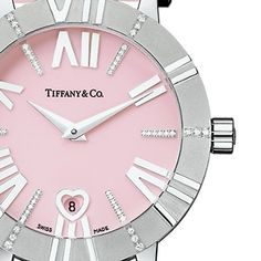 Tiffany and Co. pink watch!#Repin By:Pinterest++ for iPad#