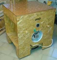 Absaug- und Montagetisch mit Luftfilter Bauanleitung zum selber...