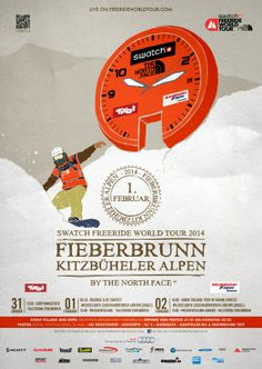 LIVE – Swatch Freeride World Tour Fieberbrunn Kitzbüheler Alpen by The North Face