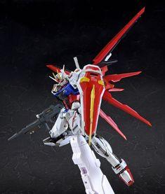 [PREVIEW] BANDAI 2018年8月09日發售: METAL BUILD Series Aile Strike Gundam 24,000Yen - Taghobby.com Strike Gundam, Gundam Seed, Gundam Model, Mobile Suit, Robot, Poses, Metal, Destiny, Costume