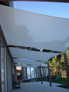 Easy on the eye...Shade sails
