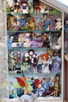 my collection ooak art dolls
