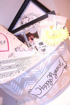 30th Wedding Anniversary Gift Basket : 30th pearl wedding Anniversary Gift, Pearl Wedding Anniversary Present ...