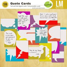 The Lilypad :: Journal Cards :: Quote Cards