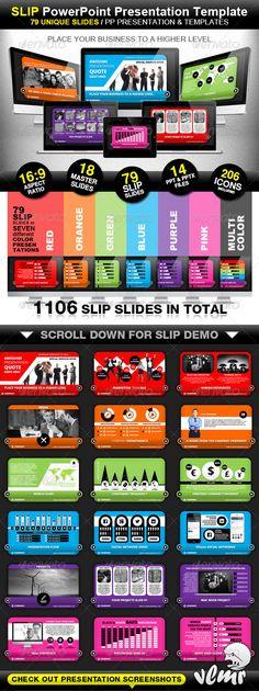 Presentation Templates - Slip Company PowerPoint Presentation Template   GraphicRiver