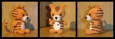 FREE Tiger Amigurumi Crochet Pattern and Tutorial